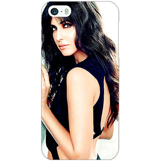 Jugaaduu Bollywood Superstar Katrina Kaif Back Cover Case For Apple iPhone 5c - J30989