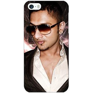 Jugaaduu Bollywood Superstar Honey Singh Back Cover Case For Apple iPhone 5 - J21182