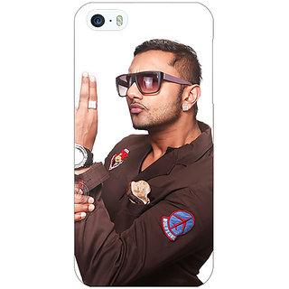 Jugaaduu Bollywood Superstar Honey Singh Back Cover Case For Apple iPhone 5 - J21183