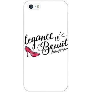Jugaaduu Quotes Beautiful Back Cover Case For Apple iPhone 5 - J21188