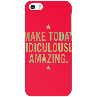 Jugaaduu Quotes Beautiful Back Cover Case For Apple iPhone 5 - J21191