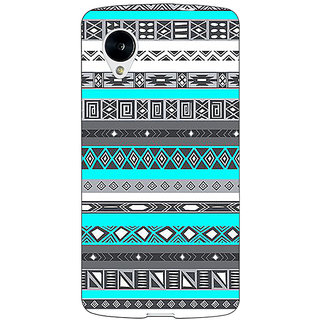 Jugaaduu Aztec Girly Tribal Back Cover Case For Google Nexus 5 - J40058