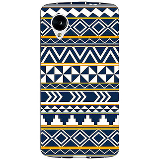 Jugaaduu Aztec Girly Tribal Back Cover Case For Google Nexus 5 - J40060