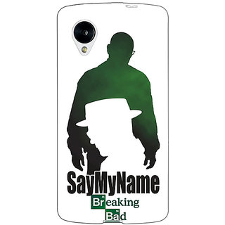 Jugaaduu Breaking Bad Heisenberg Back Cover Case For Google Nexus 5 - J40403