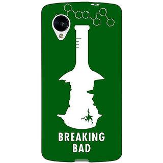 Jugaaduu Breaking Bad Heisenberg Back Cover Case For Google Nexus 5 - J40422