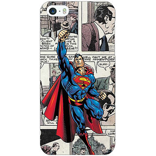Jugaaduu Superheroes Superman Back Cover Case For Apple iPhone 5c - J30029