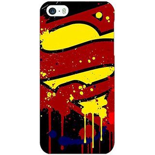 Jugaaduu Superheroes Superman Back Cover Case For Apple iPhone 5c - J30034