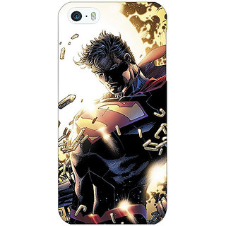 Jugaaduu Superheroes Superman Back Cover Case For Apple iPhone 5c - J30039