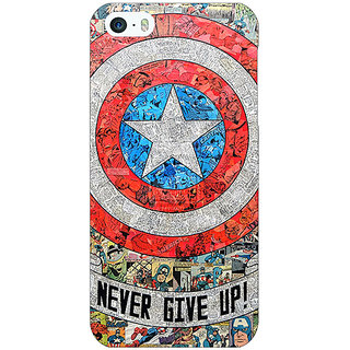 Jugaaduu Superheroes Captain America Back Cover Case For Apple iPhone 5c - J30334