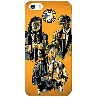 Jugaaduu Pulp Fiction Back Cover Case For Apple iPhone 5c - J30351