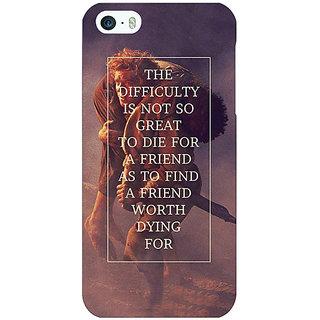 Jugaaduu LOTR Hobbit  Back Cover Case For Apple iPhone 5c - J30367