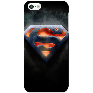 Jugaaduu Superheroes Superman Back Cover Case For Apple iPhone 5c - J30386