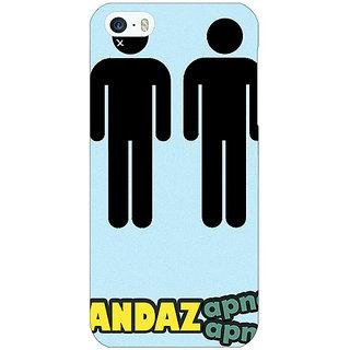 Jugaaduu Bollywood Superstar Andaz Apna Apna Back Cover Case For Apple iPhone 5c - J31080