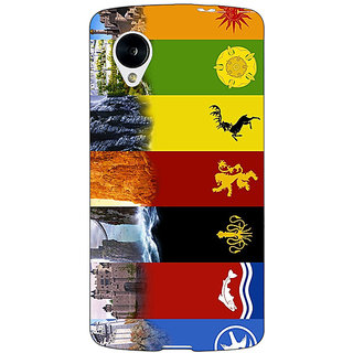 Jugaaduu Game Of Thrones GOT  Back Cover Case For Google Nexus 5 - J40118
