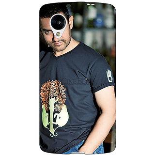 Jugaaduu Bollywood Superstar Aamir Khan Back Cover Case For Google Nexus 5 - J40918