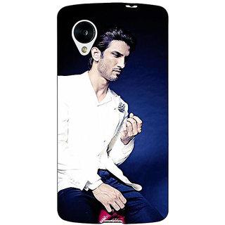 Jugaaduu Bollywood Superstar Sushant Singh Rajput Back Cover Case For Google Nexus 5 - J40929