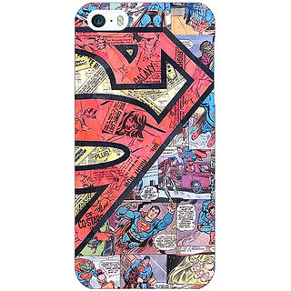 Jugaaduu Superheroes Superman Back Cover Case For Apple iPhone 5c - J30044