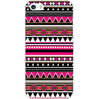 Jugaaduu Aztec Girly Tribal Back Cover Case For Apple iPhone 5c - J30055