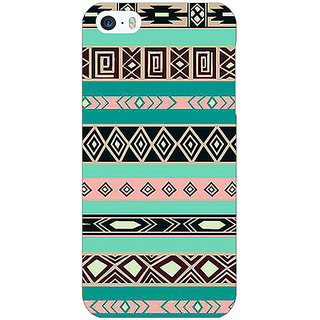 Jugaaduu Aztec Girly Tribal Back Cover Case For Apple iPhone 5c - J30065