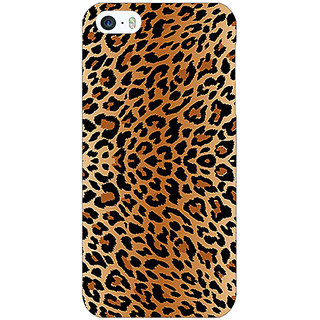 Jugaaduu Cheetah Leopard Print Back Cover Case For Apple iPhone 5c - J30078