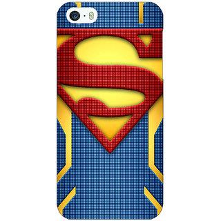 Jugaaduu Superheroes Superman Back Cover Case For Apple iPhone 5c - J30390
