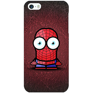 Jugaaduu Big Eyed Superheroes Spiderman Back Cover Case For Apple iPhone 5c - J30398