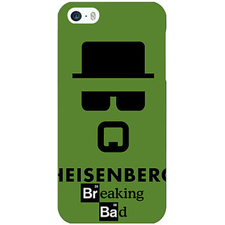 Jugaaduu Breaking Bad Heisenberg Back Cover Case For Apple iPhone 5c - J30414