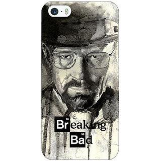Jugaaduu Breaking Bad Heisenberg Back Cover Case For Apple iPhone 5c - J30419