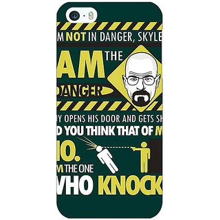 Jugaaduu Breaking Bad Heisenberg Back Cover Case For Apple iPhone 5c - J30420