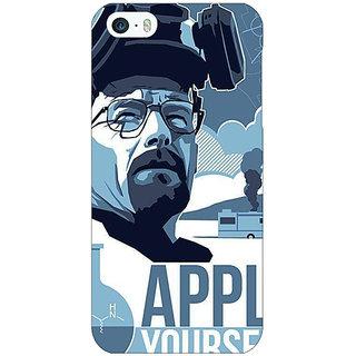 Jugaaduu Breaking Bad Heisenberg Back Cover Case For Apple iPhone 5c - J30424