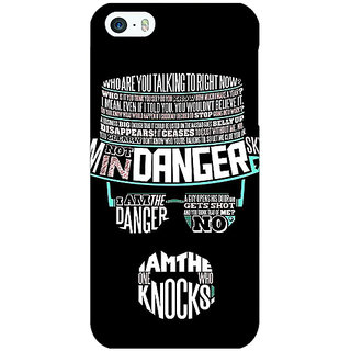 Jugaaduu Breaking Bad Heisenberg Back Cover Case For Apple iPhone 5c - J30433