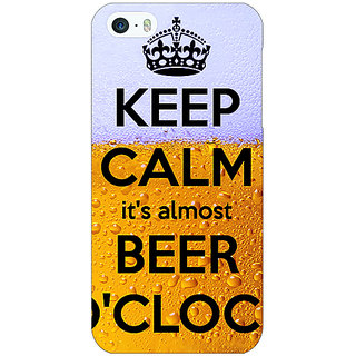 Jugaaduu Beer Quote Back Cover Case For Apple iPhone 5c - J31259