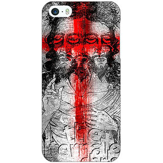 Jugaaduu Jesus Christ Back Cover Case For Apple iPhone 5c - J31274