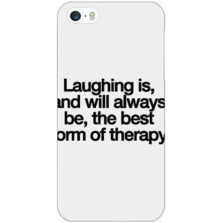Jugaaduu Laughter Quote Back Cover Case For Apple iPhone 5c - J31290
