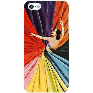 Jugaaduu Colours Back Cover Case For Apple iPhone 5 - J21381