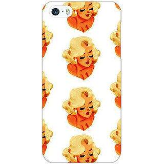 Jugaaduu Marilyn Monroe Pattern Back Cover Case For Apple iPhone 5 - J21382