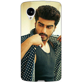 Jugaaduu Bollywood Superstar Arjun Kapoor Back Cover Case For Google Nexus 5 - J40963