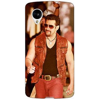Jugaaduu Bollywood Superstar Salman Khan Back Cover Case For Google Nexus 5 - J40964