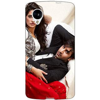 Jugaaduu Bollywood Superstar Nargis Fakhri Ranbir Kapoor Back Cover Case For Google Nexus 5 - J40973
