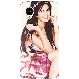 Jugaaduu Bollywood Superstar Katrina Kaif Back Cover Case For Google Nexus 5 - J40979