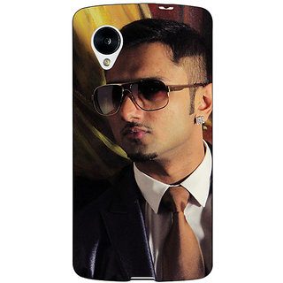 Jugaaduu Bollywood Superstar Honey Singh Back Cover Case For Google Nexus 5 - J41184