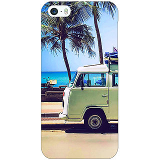 Jugaaduu Summer Van Back Cover Case For Apple iPhone 5c - J31160