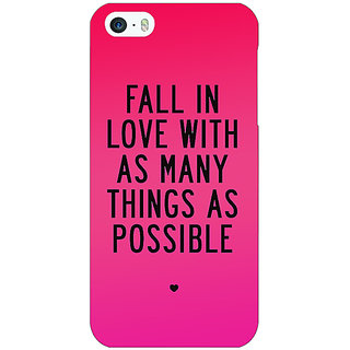 Jugaaduu Quotes Love Back Cover Case For Apple iPhone 5c - J31169