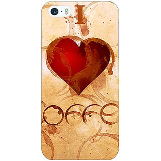 Jugaaduu Coffee Quote Back Cover Case For Apple iPhone 5c - J31362