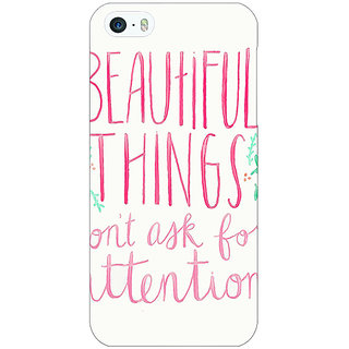 Jugaaduu Beautiful Quote Back Cover Case For Apple iPhone 5c - J31367