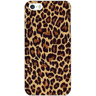 Jugaaduu Leopard Cheetah Pattern Back Cover Case For Apple iPhone 5c - J31387