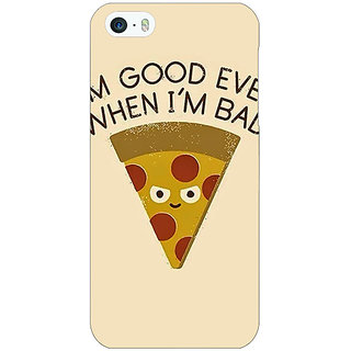 Jugaaduu Pizza Quote Back Cover Case For Apple iPhone 5c - J31388