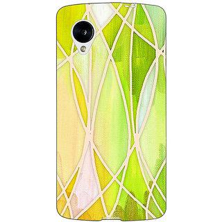 Jugaaduu Designer Geometry Pattern Back Cover Case For Google Nexus 5 - J40236