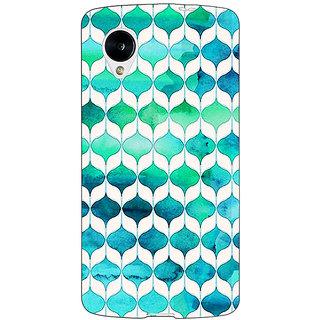 Jugaaduu Dream Patterns Back Cover Case For Google Nexus 5 - J40252