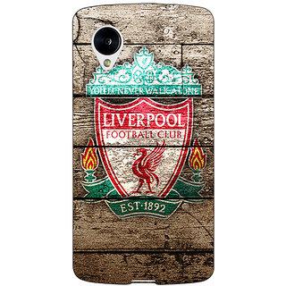 Jugaaduu Liverpool Back Cover Case For Google Nexus 5 - J40548